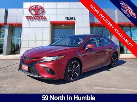 2018 Toyota Camry for sale at TEJAS TOYOTA in Humble TX