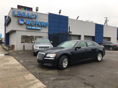 2012 Chrysler 300 for sale at Legacy Motors in Detroit MI