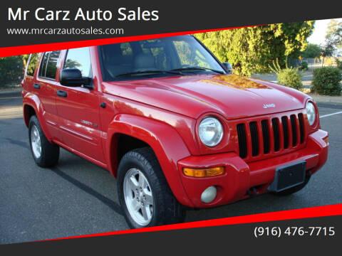 2002 Jeep Liberty for sale at Mr Carz Auto Sales in Sacramento CA