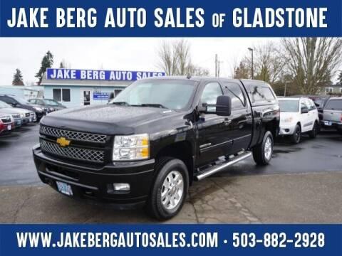 2013 Chevrolet Silverado 2500HD for sale at Jake Berg Auto Sales in Gladstone OR