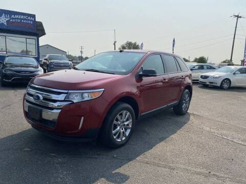 2013 Ford Edge for sale at All American Auto Sales LLC in Nampa ID