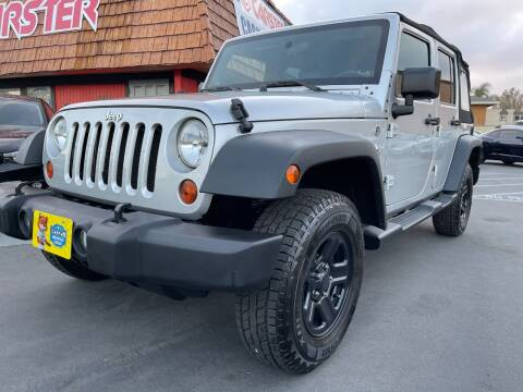 2010 Jeep Wrangler Unlimited for sale at CARSTER in Huntington Beach CA