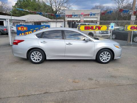2016 Nissan Altima for sale at B & R Auto Sales in N Little Rock AR