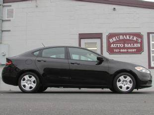 2015 Dodge Dart for sale at Brubakers Auto Sales in Myerstown PA
