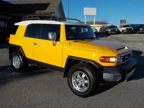 2007 Toyota FJ Cruiser for sale at C & C MOTORS in Chattanooga TN