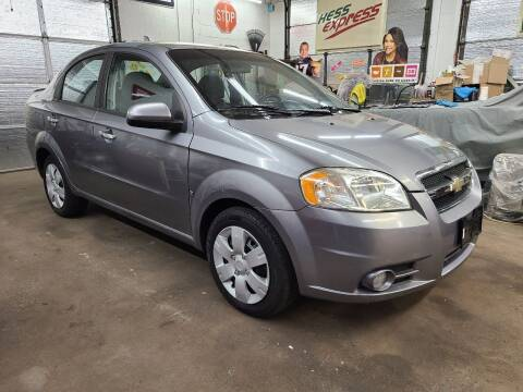 2009 Chevrolet Aveo for sale at Devaney Auto Sales & Service in East Providence RI
