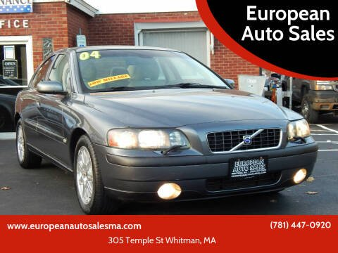 2004 Volvo S60 for sale at European Auto Sales in Whitman MA