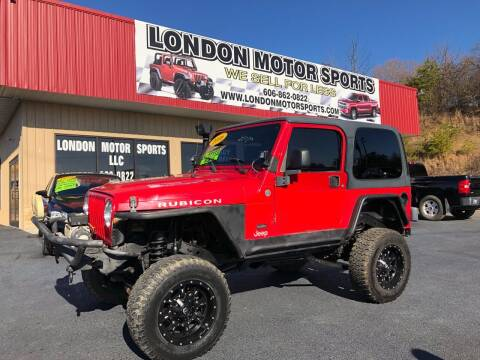 2006 Jeep Wrangler for sale at London Motor Sports, LLC in London KY