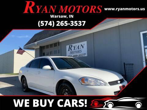 2009 Chevrolet Impala for sale at Ryan Motors LLC in Warsaw IN