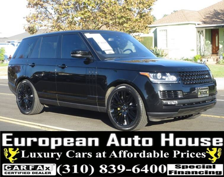 2016 Land Rover Range Rover for sale at European Auto House in Los Angeles CA