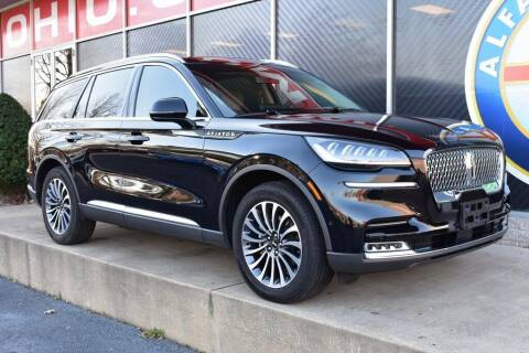 2020 Lincoln Aviator for sale at Alfa Romeo & Fiat of Strongsville in Strongsville OH