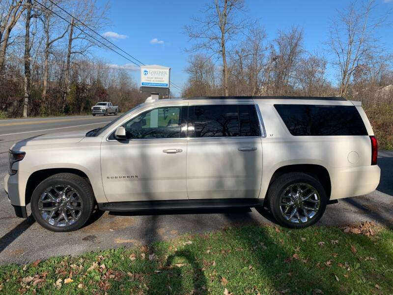 2015 Chevrolet Suburban for sale at Gardner Motors in Elizabethtown PA
