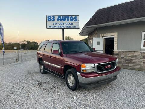 2005 GMC Yukon for sale at 83 Autos in York PA