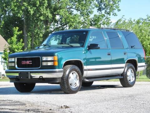 1997 GMC Yukon for sale at Tonys Pre Owned Auto Sales in Kokomo IN