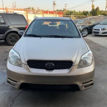 2003 Toyota Matrix for sale at Aria Auto Sales in El Cajon CA