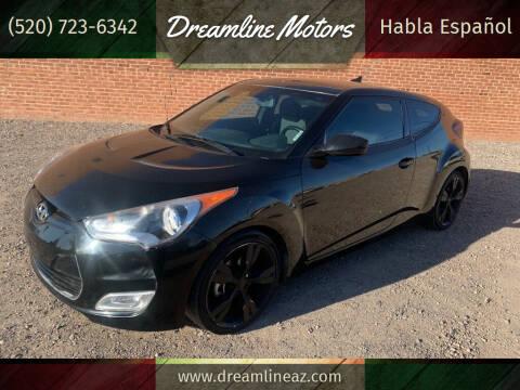 2013 Hyundai Veloster for sale at Dreamline Motors in Coolidge AZ