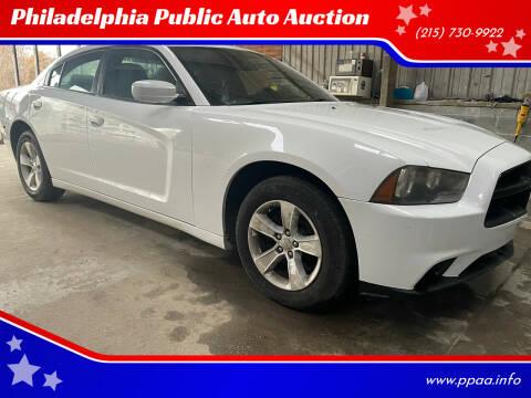 2012 Dodge Charger for sale at Philadelphia Public Auto Auction in Philadelphia PA