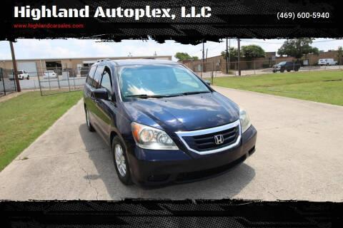 2008 Honda Odyssey for sale at Highland Autoplex, LLC in Dallas TX