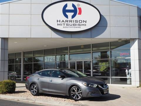 2017 Nissan Maxima for sale at Harrison Imports in Sandy UT