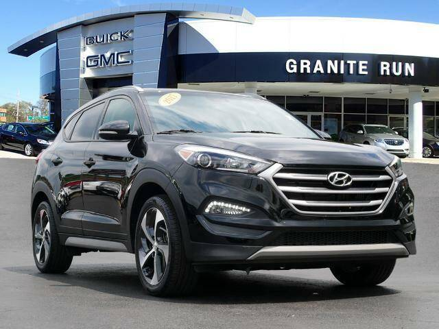 2017 Hyundai Tucson for sale at GRANITE RUN PRE OWNED CAR AND TRUCK OUTLET in Media PA