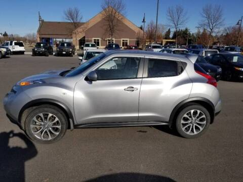 2011 Nissan JUKE for sale at ROSSTEN AUTO SALES in Grand Forks ND