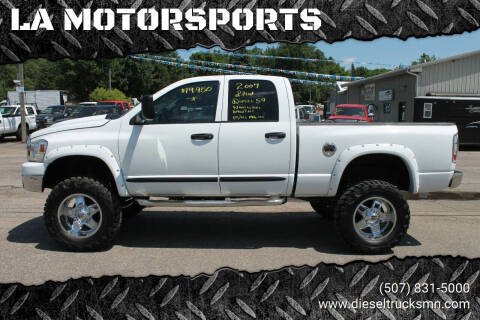 2007 Dodge Ram Pickup 2500 for sale at LA MOTORSPORTS in Windom MN