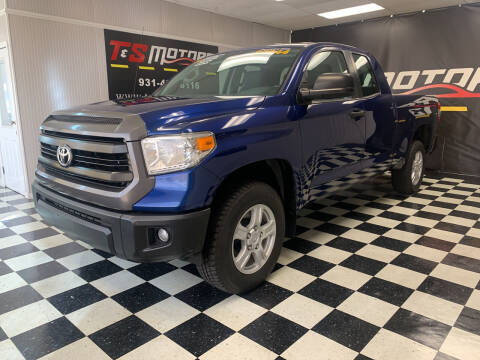 2014 Toyota Tundra for sale at T & S Motors in Ardmore TN