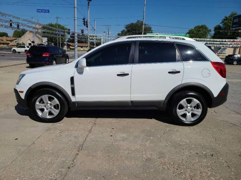 2014 Chevrolet Captiva Sport for sale at Bob Boruff Auto Sales in Kokomo IN