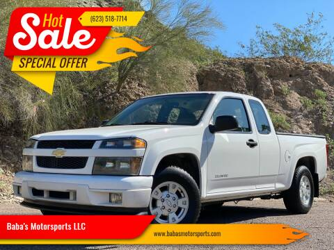 2005 Chevrolet Colorado for sale at Baba's Motorsports, LLC in Phoenix AZ