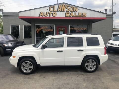 2008 Jeep Patriot for sale at Clawson Auto Sales in Clawson MI