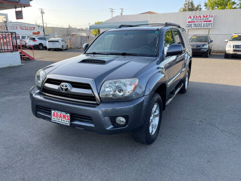 2007 Toyota 4Runner for sale at Adams Auto Sales in Sacramento CA
