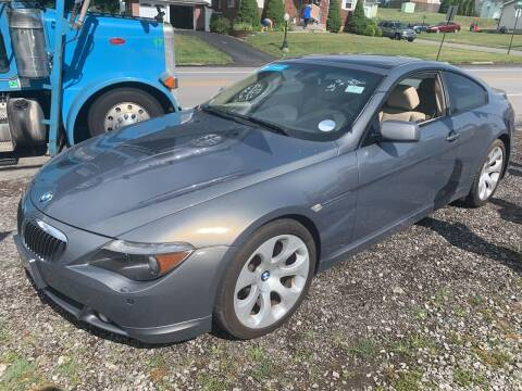 2005 BMW 6 Series for sale at Trocci's Auto Sales in West Pittsburg PA
