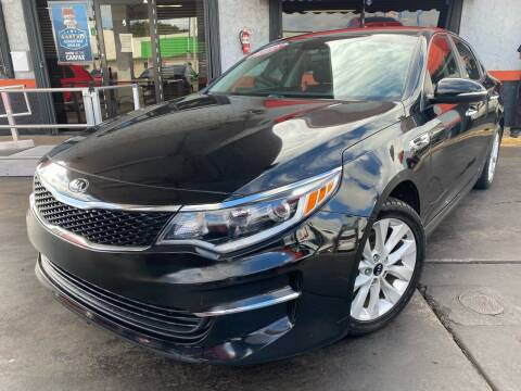 2016 Kia Optima for sale at MATRIX AUTO SALES INC in Miami FL