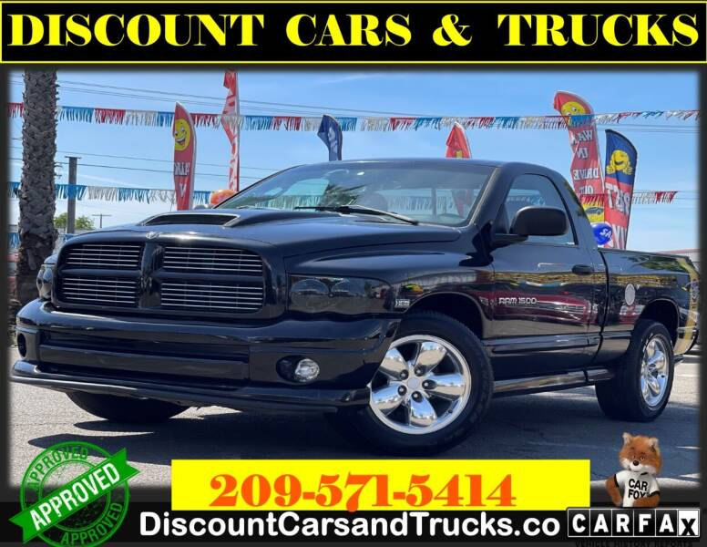2004 Dodge Ram Pickup 1500 for sale at Discount Cars & Trucks in Modesto CA
