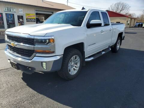 2016 Chevrolet Silverado 1500 for sale at Bailey Family Auto Sales in Lincoln AR