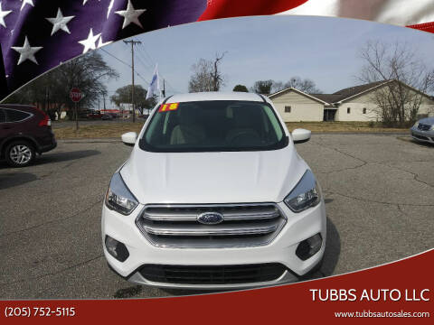 2017 Ford Escape for sale at Tubbs Auto LLC in Tuscaloosa AL
