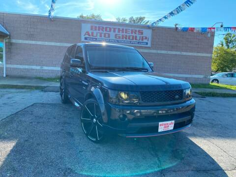 2013 Land Rover Range Rover Sport for sale at Brothers Auto Group in Youngstown OH