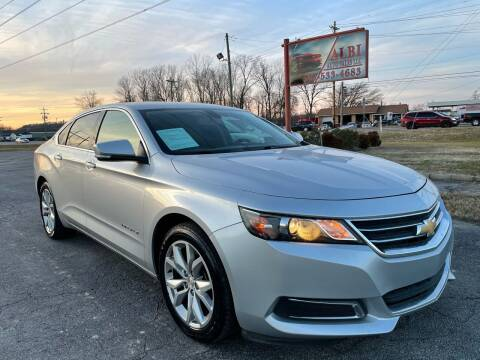 2016 Chevrolet Impala for sale at Albi Auto Sales LLC in Louisville KY
