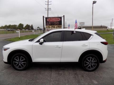2018 Mazda CX-5 for sale at MYLENBUSCH AUTO SOURCE in O'Fallon MO