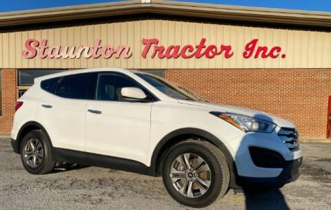 2015 Hyundai Santa Fe Sport for sale at STAUNTON TRACTOR INC in Staunton VA