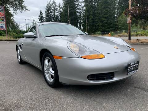 1998 Porsche Boxster for sale at CAR MASTER PROS AUTO SALES in Lynnwood WA