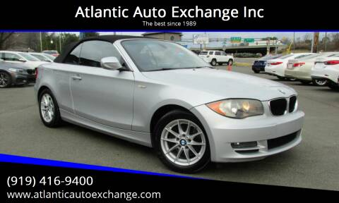 2011 BMW 1 Series for sale at Atlantic Auto Exchange Inc in Durham NC