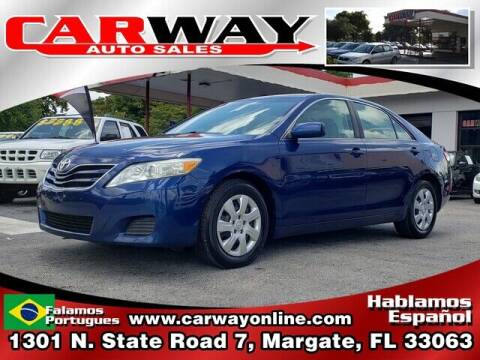 2011 Toyota Camry for sale at CARWAY Auto Sales in Margate FL