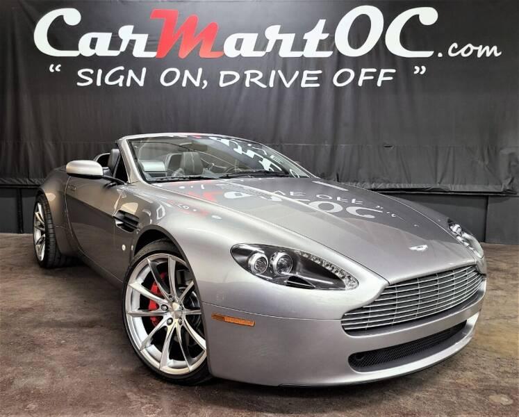 2007 Aston Martin V8 Vantage for sale at CarMart OC in Costa Mesa CA