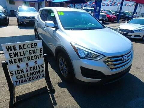 2016 Hyundai Santa Fe Sport for sale at 4530 Tip Top Car Dealer Inc in Bronx NY