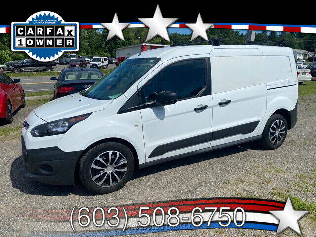2016 Ford Transit Connect Cargo for sale at J & E AUTOMALL in Pelham NH