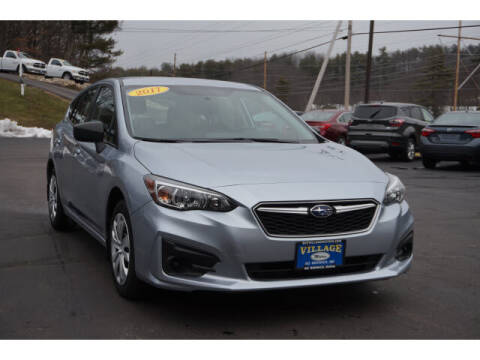 2017 Subaru Impreza for sale at VILLAGE MOTORS in South Berwick ME