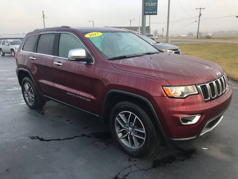 2017 Jeep Grand Cherokee for sale at Huggins Auto Sales in Hartford City IN