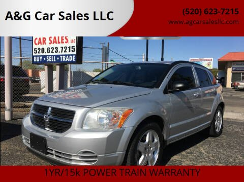 2009 Dodge Caliber for sale at A&G Car Sales  LLC in Tucson AZ