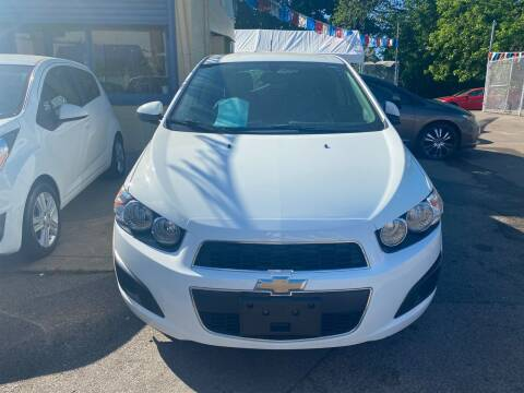2015 Chevrolet Sonic for sale at Polonia Auto Sales and Service in Hyde Park MA